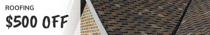 Roofing Offer $500 Off Image