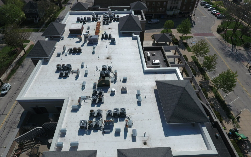 Station Crossing Condo Assoc - TPO Flat Roof