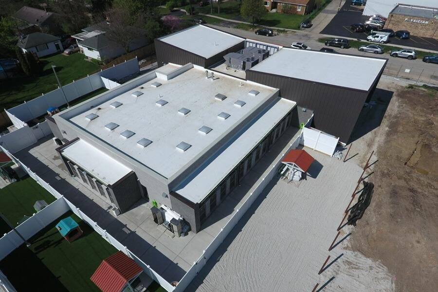 West Suburban Humane Society - TPO Flat Roof